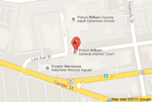 Prince William County Court Map